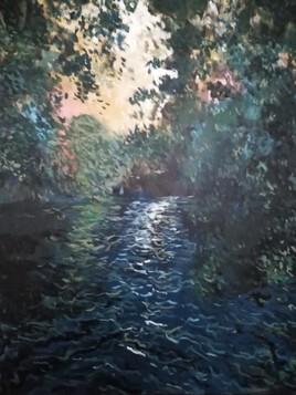 La rivière bleue (Collection particulière)