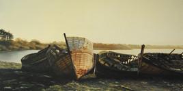 Cimetière de bateaux ( Bretagne )
