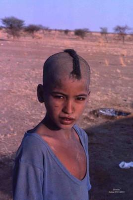 Moussa. Enfant Touareg. Tanezrouft