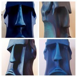 Mon Moai..#of color