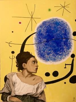 «La jeune fille et l'ovule cosmique»