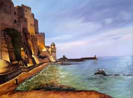 Début de soirée à Collioure