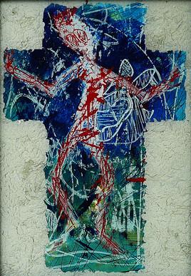 Crucifixion (retouchée)(collection privée)