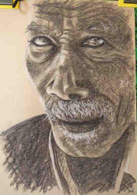 """Portrait """"Le vieux métis"""""""