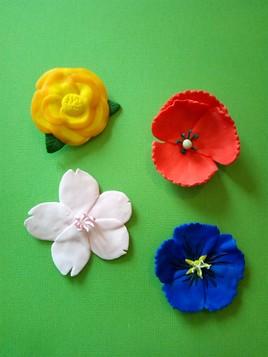 Petites fleurs décoratives