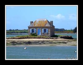 maison sur la mer à saint-cado