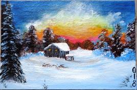 Un jour sous la neige