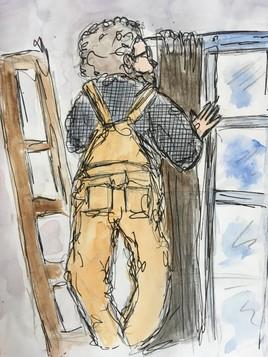 Gerard le réparateur de rideau