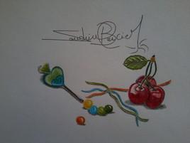Bonbons et cerises:à déguster à volonté!!