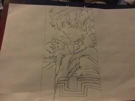 Voilà mon dessin du concours que j'ai organiser