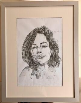 Portrait au rotring