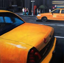 Peinture Street of New-York