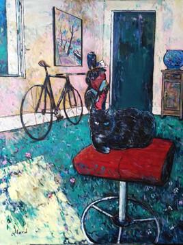 Blue eye cat, ou La vie rêvée des chats