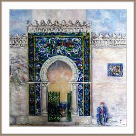La mosaïque de SIDI SOUFI de Bejaia .