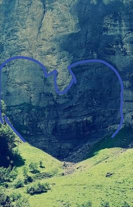 Cœur montagne (le voilà)