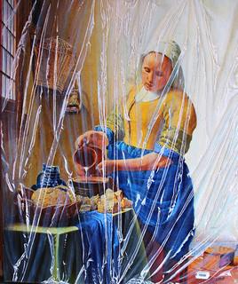 Vermeer sous plastique