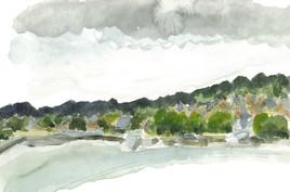 Côte près de Honfleur