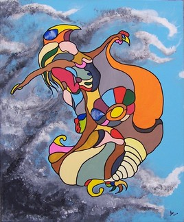 L'envol de la femme-oiseau