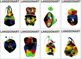 LangdonArt expo peintures 22 avril-12 mai 2019 Galerie2456 Montreal