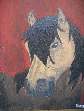 portrait poney