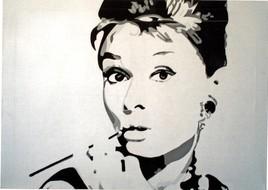 """Portrait """" Audrey Hepburn """""""