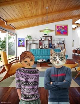 la maison de Mioumiou et Grisou :)