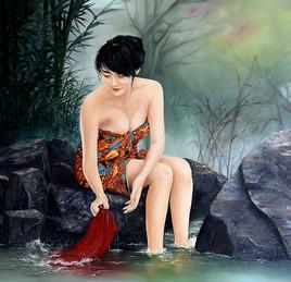 Bain d'Asie