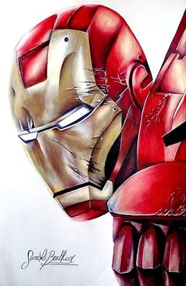 Iron man en couleurs