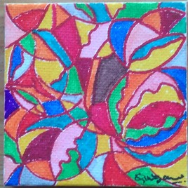 Plumes et oiseaux Numéro 3/4 ( Série fleurs de Ylang, Fruits, Plumes et oiseaux, Insectes).