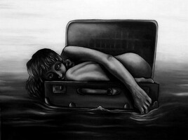 Voyage en solitaire.