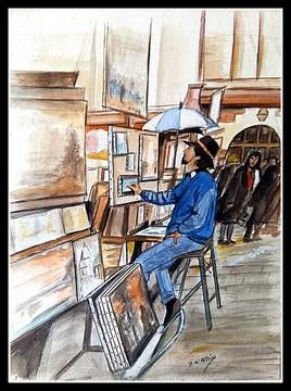 Le peintre de Montmartre