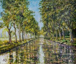Le Canal du Midi prés de Béziers