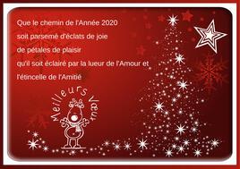 143-MES MEILLEURS VOEUX POUR 2020