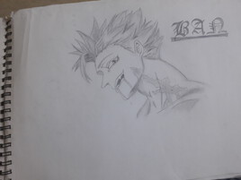 "Dessin - Manga ""Ban"" (Seven Deadly Sins)"