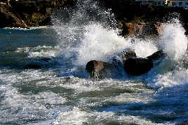 la mer en colère traité