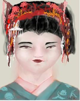 Un petit air de Geisha .....