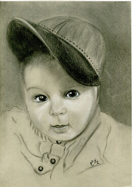 Bébé à la casquette