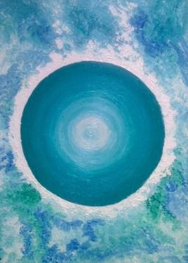 """""""NEPTUNE"""" Tableau planétaire zodiacal POISSON.  Radionique des couleurs. Poisson Positif."""
