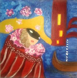 La dame du carnaval