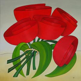 5 tulicots à l'anneau