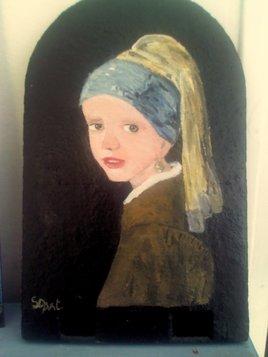 Ma vision Vermeer:La fille à la perle