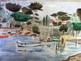 Port le croûton à  Antibes