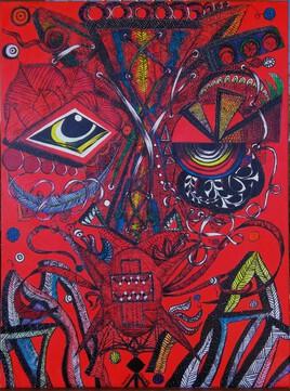 masque rouge 2