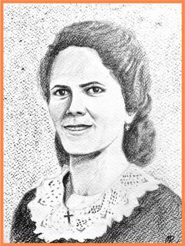 Dessin Portrait d'Hélène / Drawing Hélène's portrait