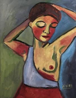 """""""Jeune femme"""" Essai ..."""