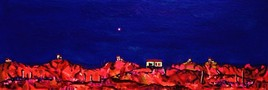 Crépuscule caniculaire 2003