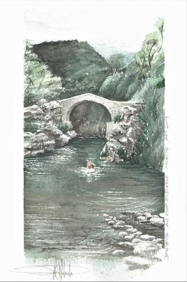 baigneuse du Pont du Diable