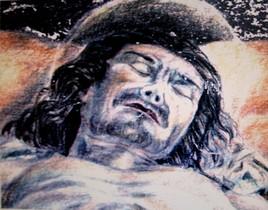 La lamentation-détail-Mantegna