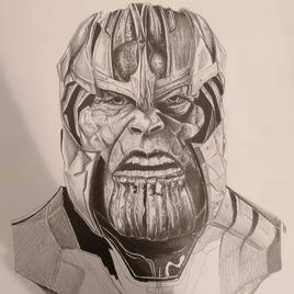 Portrait de Thanos