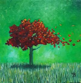 Arbre d'automne I